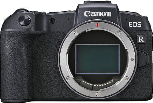 Canon EOS RP mirrorless - spejlløst