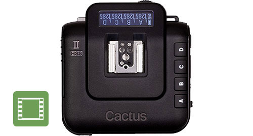 Cactus Wireless Flash Transceiver V6 II