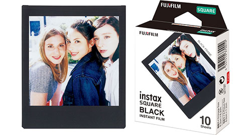 Instax SQ10 square film black